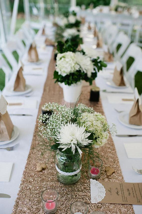 Tischdeko Hochzeit Mustertische  Hochzeitsdeko selber machen Ideen für Tischdeko