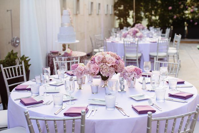 Tischdeko Hochzeit Runde Tische  1001 Ideen für eine bezaubernde Hochzeitstischdeko