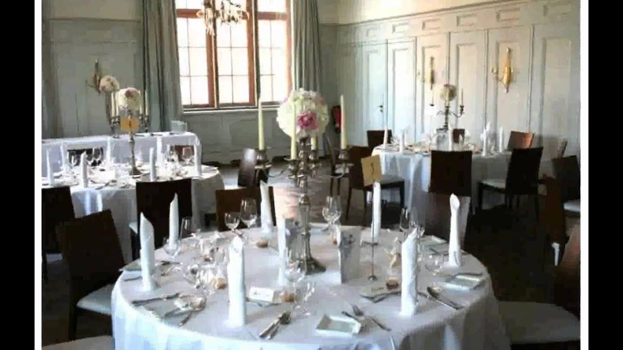 Tischdeko Hochzeit Runde Tische  Tischdeko Hochzeit