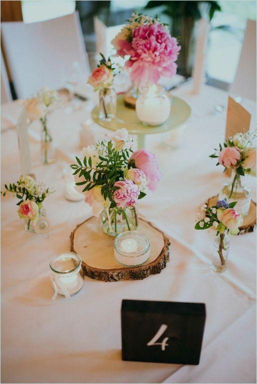 Tischdeko Hochzeit Runde Tische  blumendeko hochzeit runde tische – zoile