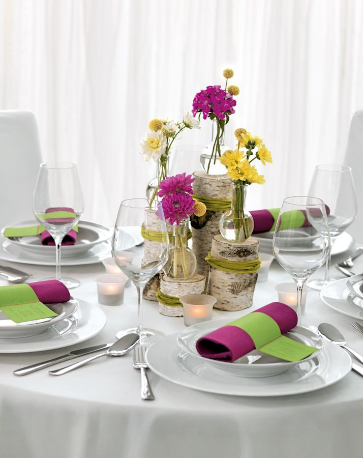 Tischdeko Hochzeit Runde Tische  Die 25 besten Ideen zu Runde tische auf Pinterest