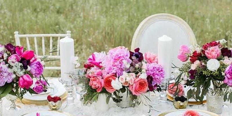 Tischdeko Zur Hochzeit  Beispiele für traumhafte Tischdeko zur Hochzeit nach