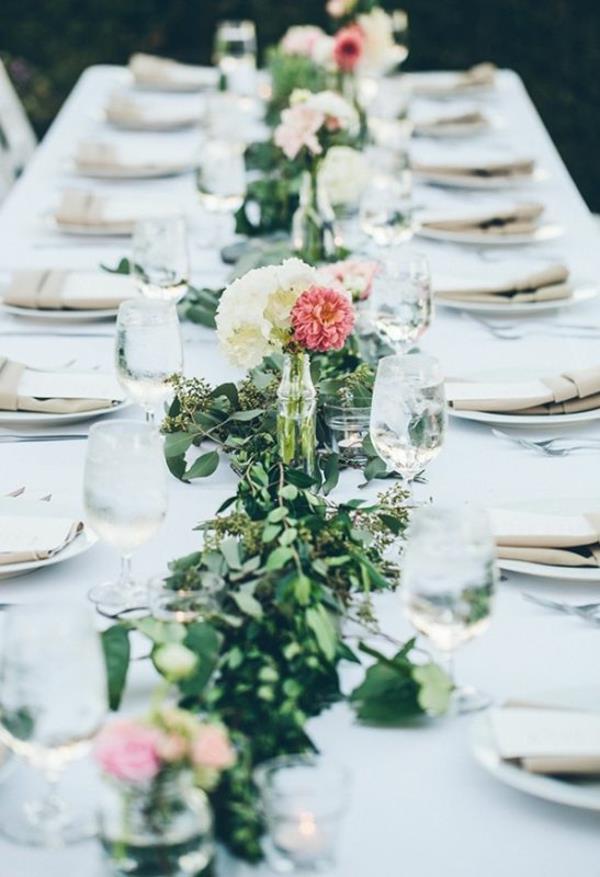 Tischdeko Zur Hochzeit  Vintage Tischdeko zur Hochzeit 100 faszinierende Ideen