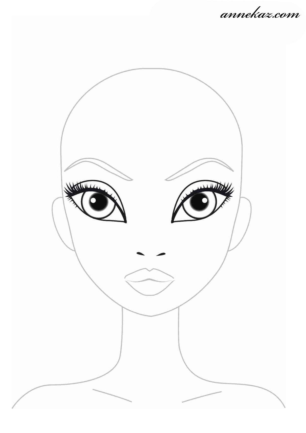 Top 20 topmodel Ausmalbilder Gesicht - Beste Wohnkultur, Bastelideen, Coloring und Frisur