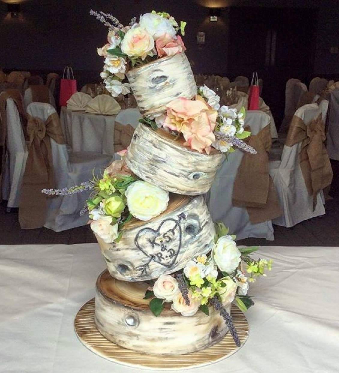 Topsy Turvy Hochzeitstorte  Topsy Turvy Cake Kit