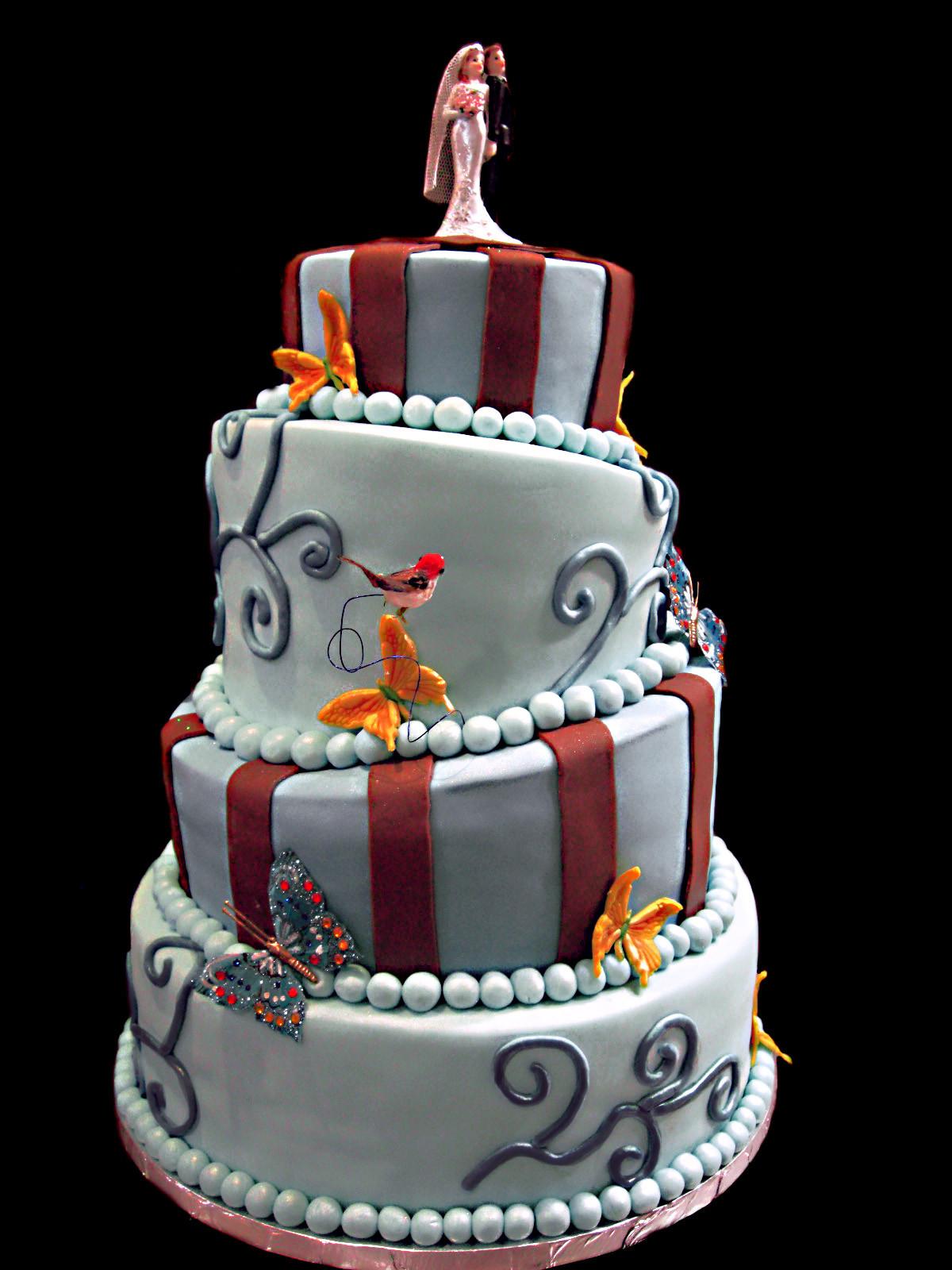 Topsy Turvy Hochzeitstorte  Topsy Turvy Wedding Cake