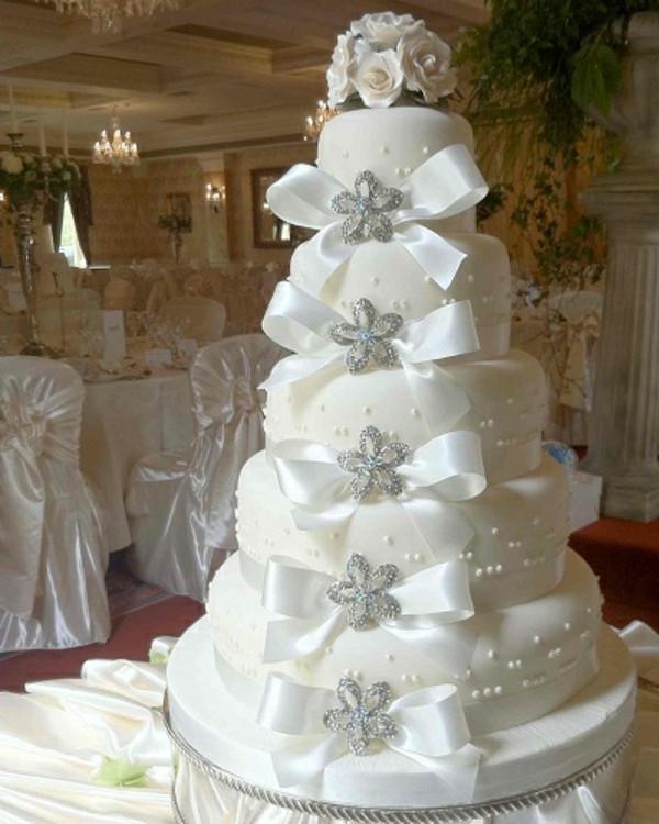 Torte Hochzeit  Mehrstöckige Torte zur Hochzeit 45 Ideen