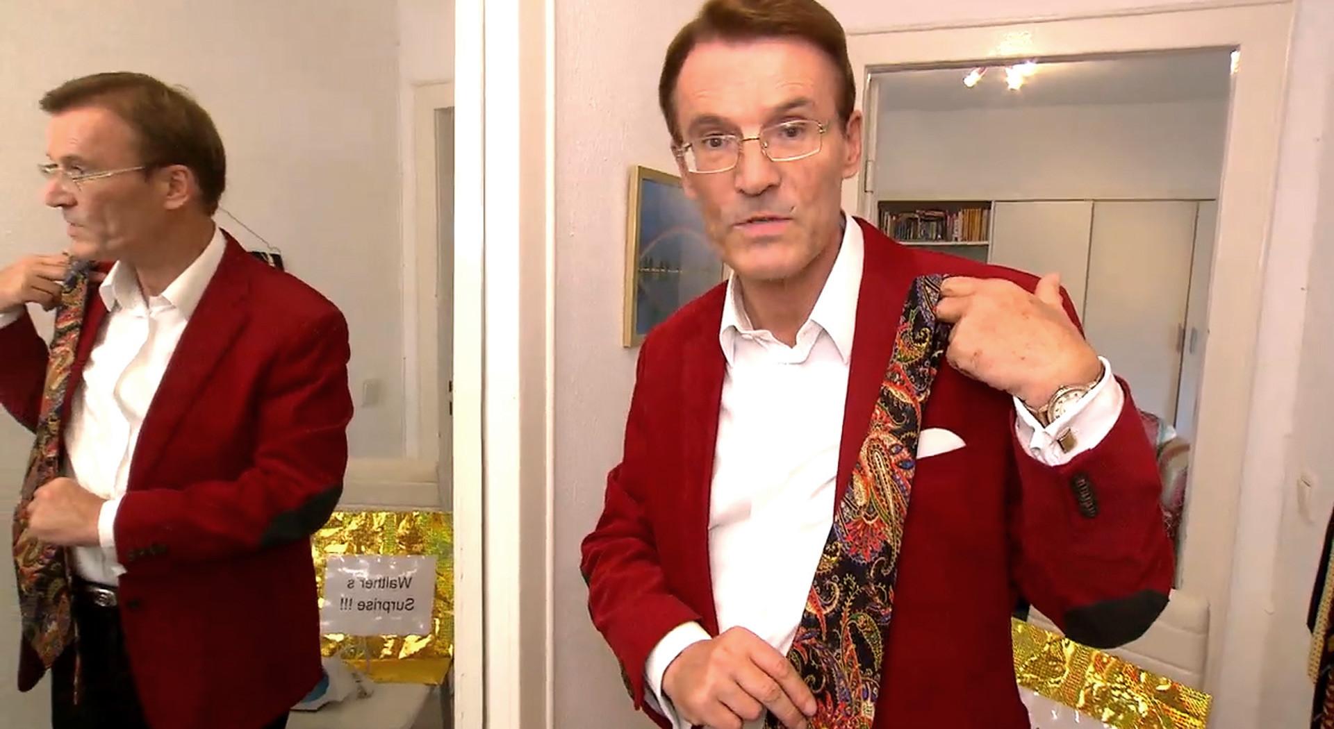 """Traumfrau Gesucht Walther Hochzeit  """"Die Krawatte ist der Lippenstift des Mannes """" Traumfrau"""