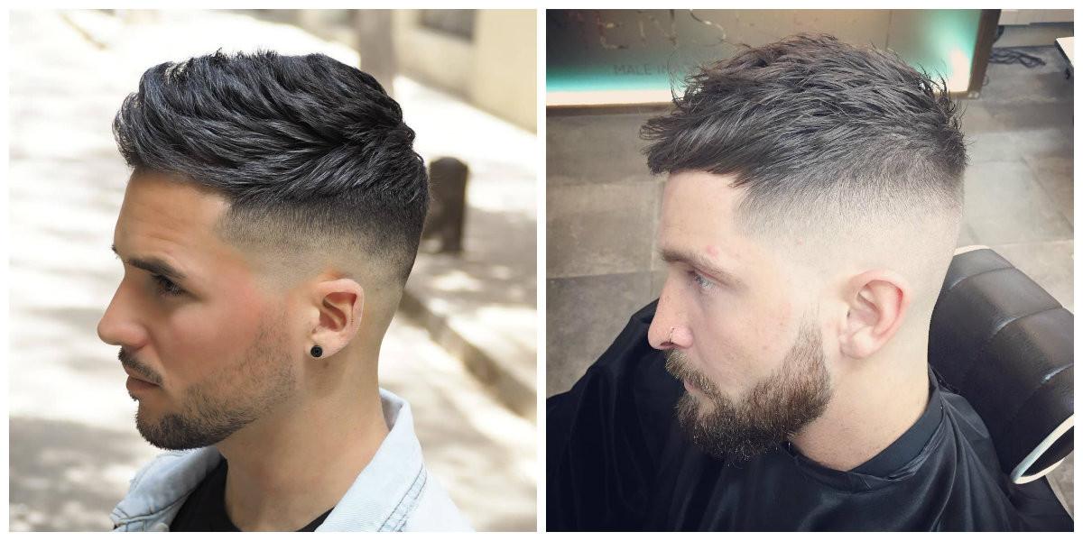 Übergang Haarschnitt  Coole Frisuren für Männer 2019 9 süße Herren