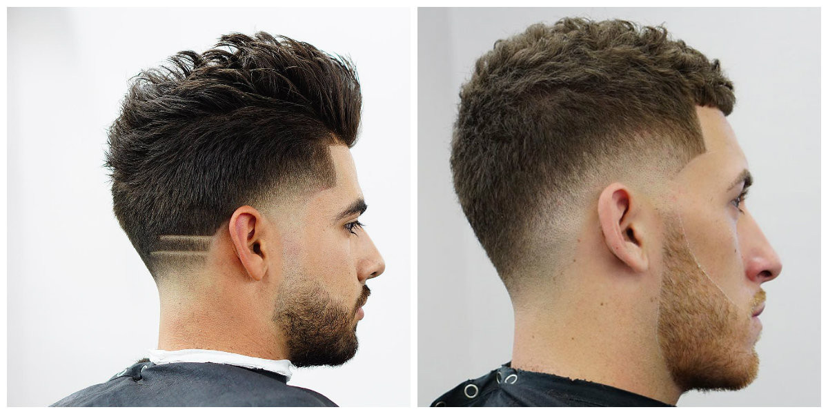 Übergang Haarschnitt  Fade Haarschnitte 2019 Ausführung Technologie und Arten