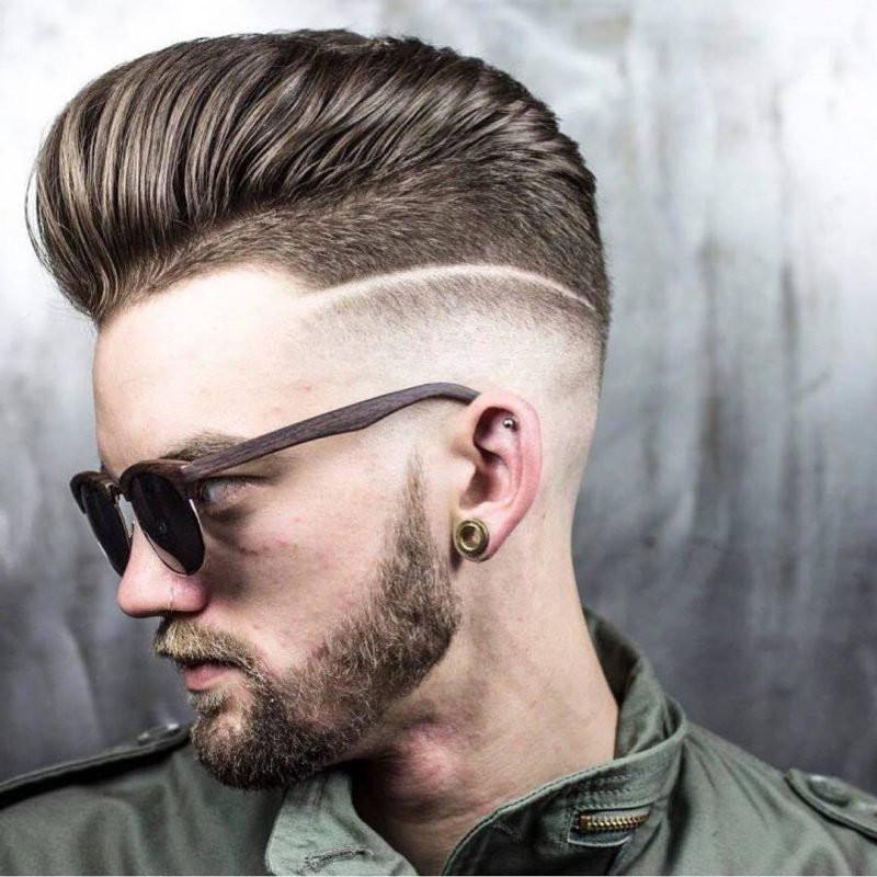 Übergang Haarschnitt  Undercut mit Übergang der neue alte Trend
