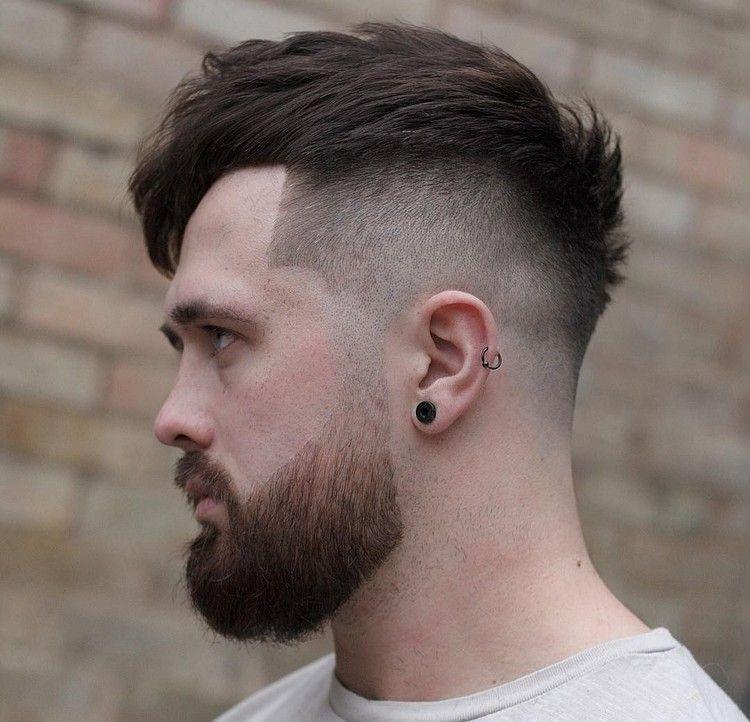 Übergang Haarschnitt  frisur mit übergang bart moderner haarschnitt hairstyles