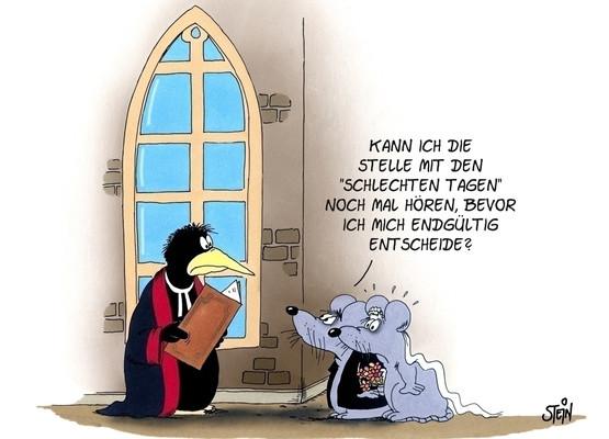 Uli Stein Hochzeit  Hochzeit ♥ Postkarten Motive ♥ PokaMax