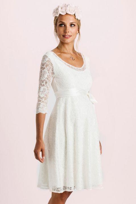 Umstands Hochzeitskleid  Umstands Hochzeitskleid dacostaweb