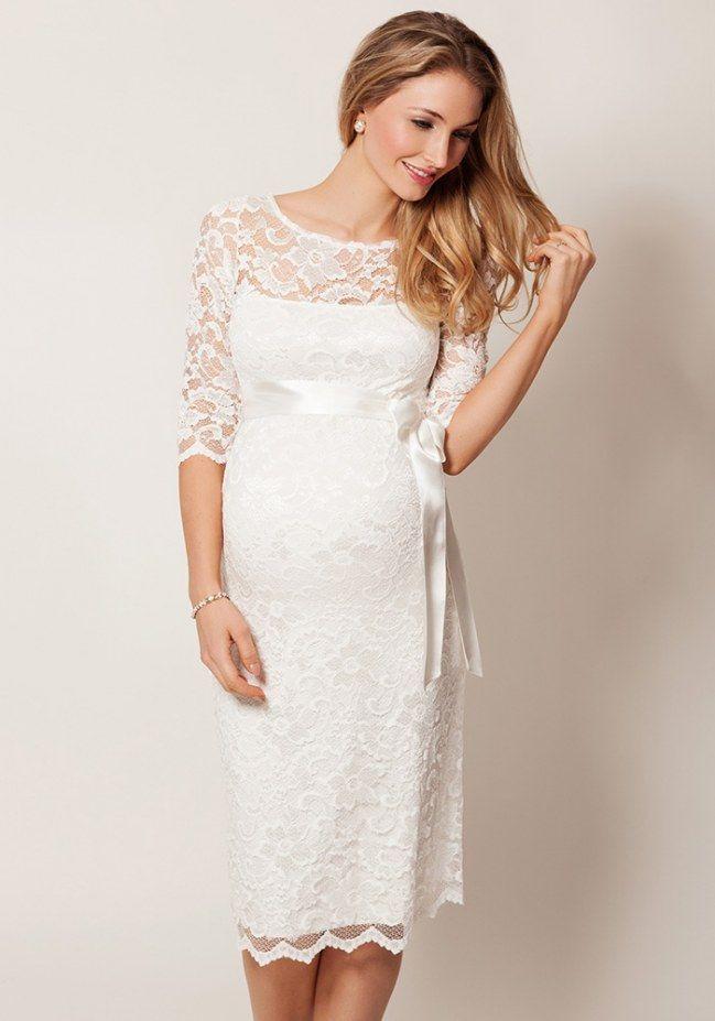Umstands Hochzeitskleid  Umstands Hochzeitskleid Standesamt dacostaweb