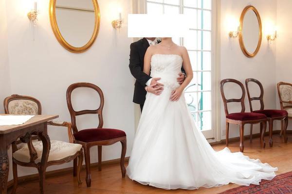 Umstands Hochzeitskleid  Hochzeitskleid Umstands Hochzeitskleid wie NEU in