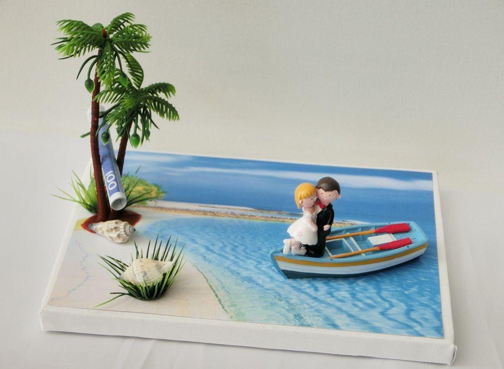 Urlaub Hochzeit  Geldgeschenk zur Hochzeit Flitterwochen Urlaub