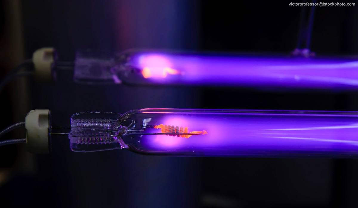 Uv Lampen  Gases for the manufacture of disinfectant UV lamps Gases