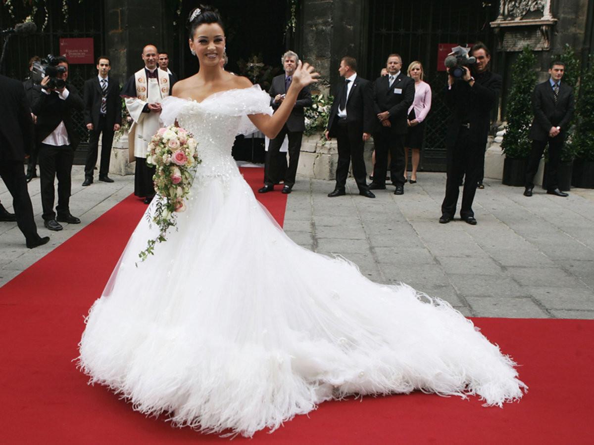 Verona Pooth Hochzeitskleid  Hochzeit Verona Pooth Bilder