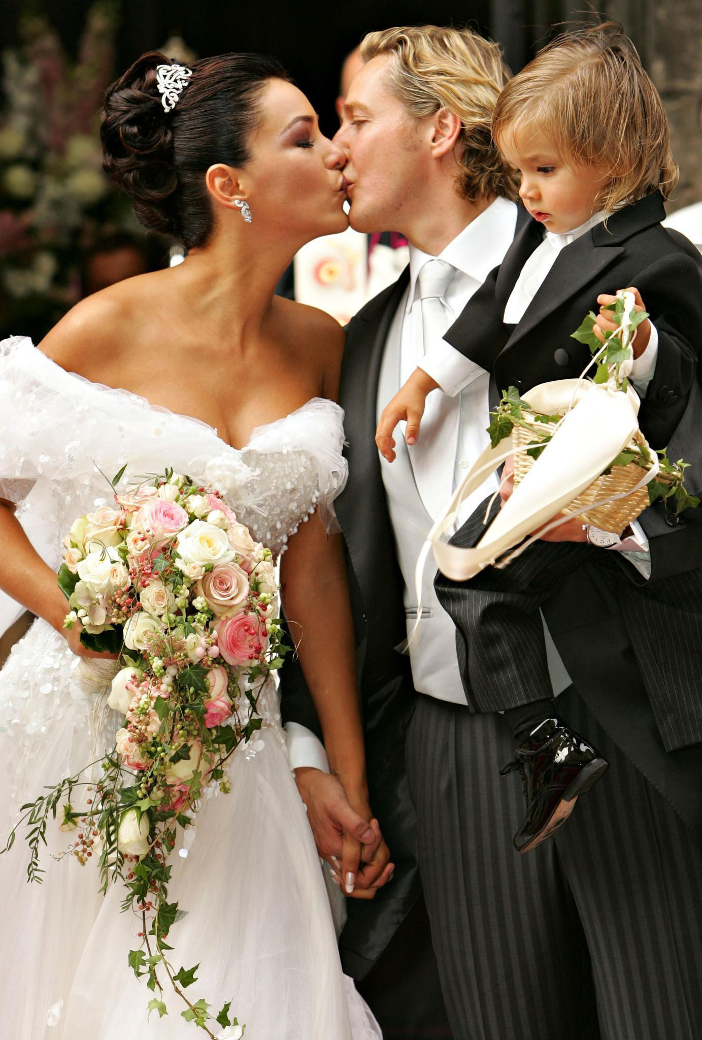 Verona Pooth Hochzeitskleid  Prominente Jasager Nazan Eckes Verona Pooth Co lassen