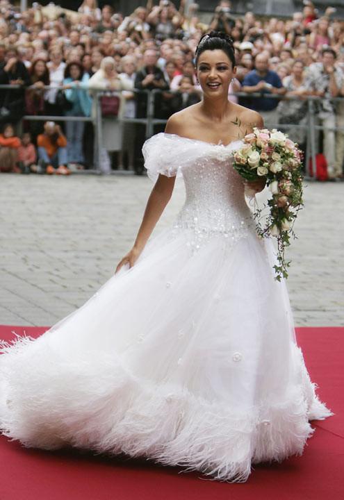 Verona Pooth Hochzeitskleid  Blitz Scheidung Die kürzesten Promi Ehen Bild 7
