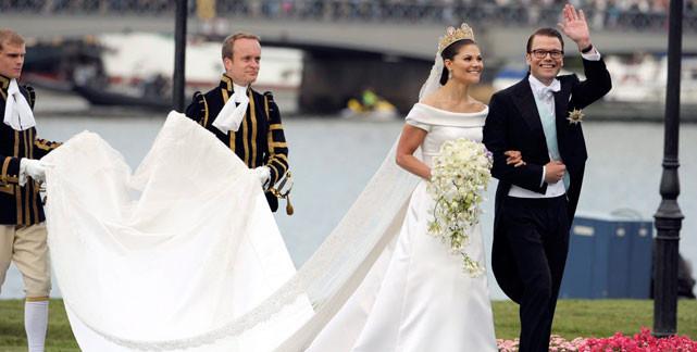 Victoria Von Schweden Hochzeit  Royal Weddings Prinzessin Victoria von Schweden und