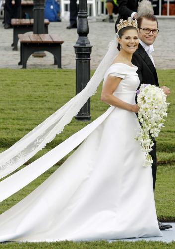 Victoria Von Schweden Hochzeit  Kronprinzessin Victoria von Schweden