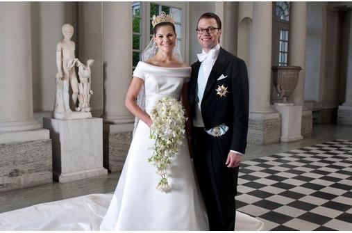 Victoria Von Schweden Hochzeit  Hochzeit von Victoria von Schweden und Daniel Westling
