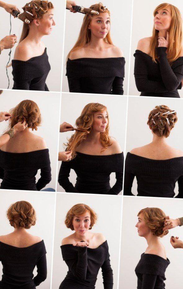 Vintage Frisuren Selber Machen  Pin Up Frisuren Selber Machen pin up frisuren selber