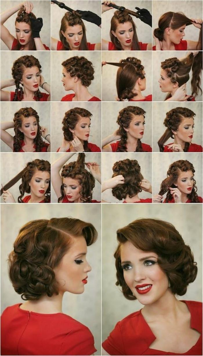 Vintage Frisuren Selber Machen  1001 Ideen und Inspirationen für atemberaubende Vintage