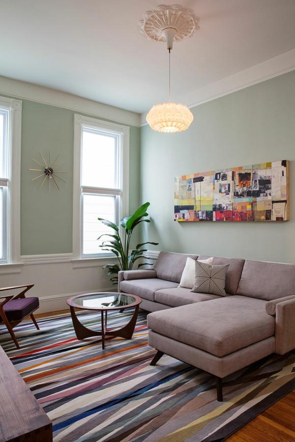 Vintage Wohnzimmer  Vintage Einrichtung Einrichtungsideen im Retro Stil