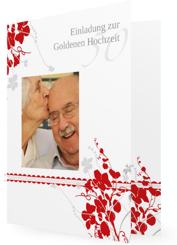 Vortrag Für Goldene Hochzeit  Karten für Goldene Hochzeit