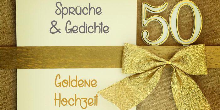 Vortrag Für Goldene Hochzeit  Sprüche zur Goldenen Hochzeit Zitate Gedichte