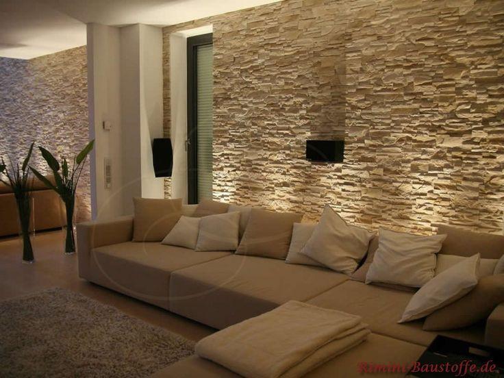 Wandgestaltung Wohnzimmer  Die besten 25 Wandgestaltung wohnzimmer Ideen auf