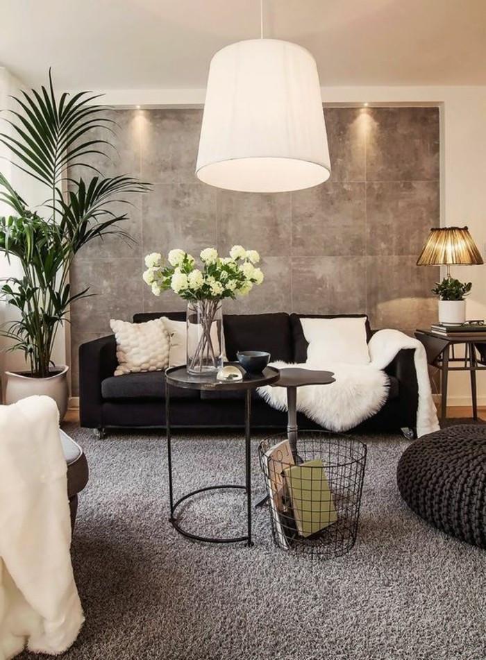 Wandgestaltung Wohnzimmer  120 Wohnzimmer Wandgestaltung Ideen Archzine