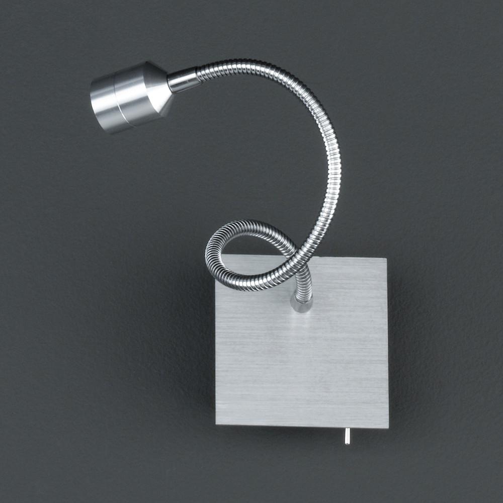 Wandlampe Mit Schalter  flexible LED Wandlampe mit Schwanenhals und Schalter