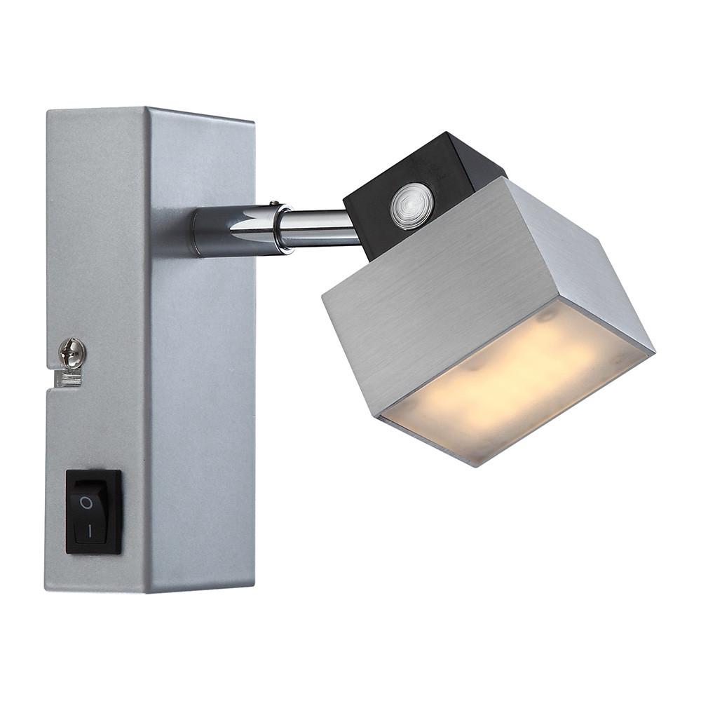 Wandlampe Mit Schalter  Wandlampe Mit Schalter edle schirm wandlampe quadratisch