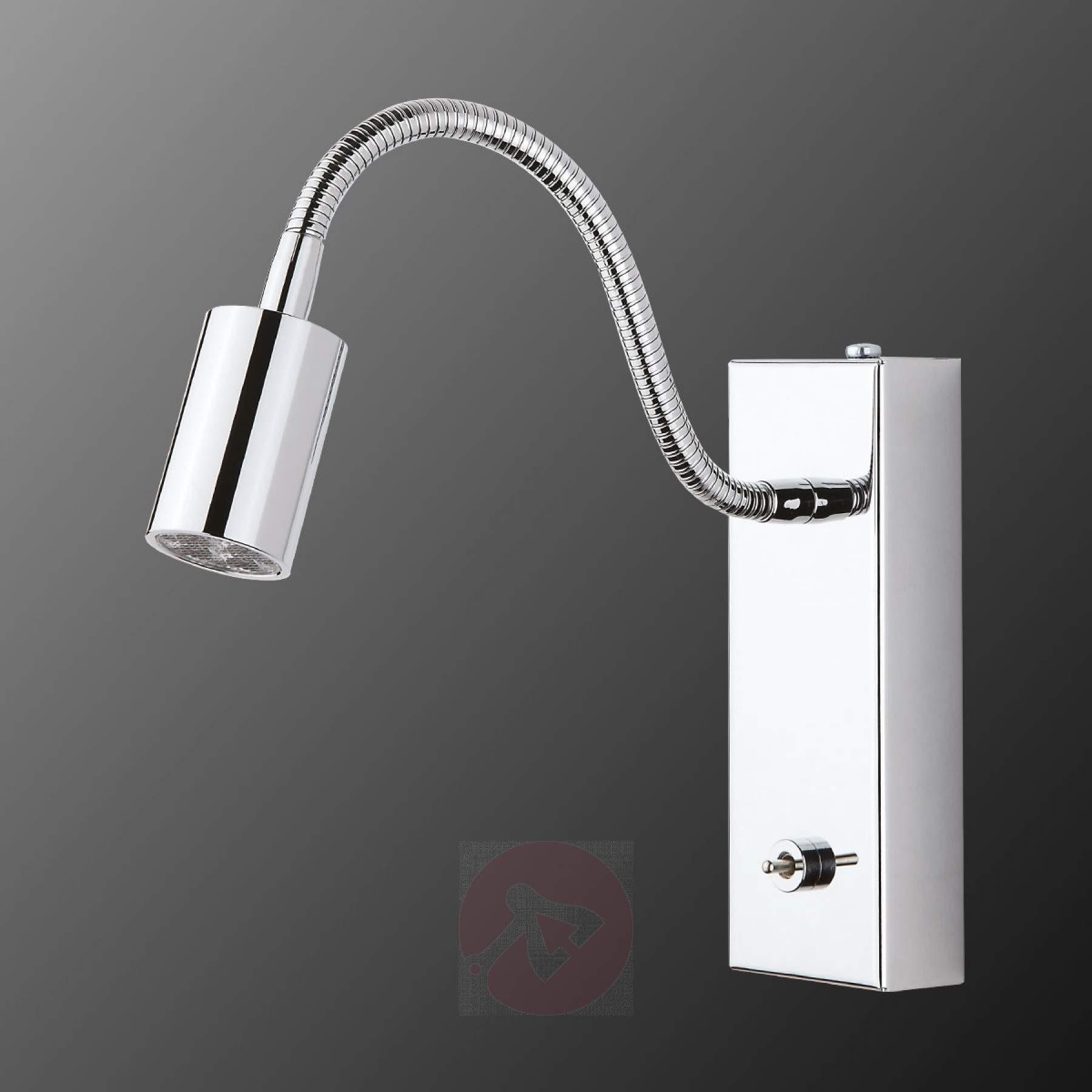 Wandlampe Mit Schalter  Bewegliche LED Wandleuchte mit Schalter kaufen