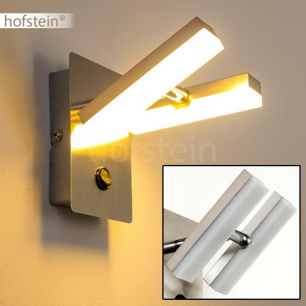 Wandlampe Mit Schalter  LED Design Wandlampe mit Schalter Wohn Zimmer Leuchten