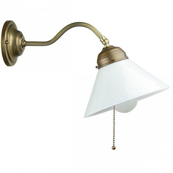 Wandlampe Mit Schalter  Jugendstil Wandlampen von Berliner Messinglampen