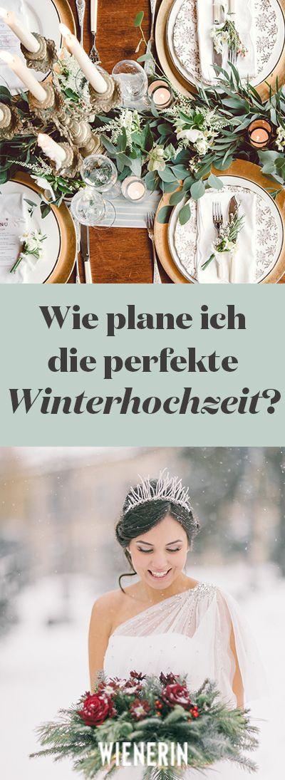 """Wann Ist Welche Hochzeit?  Wie sieht perfekte Winterhochzeit aus """"Macherei"""