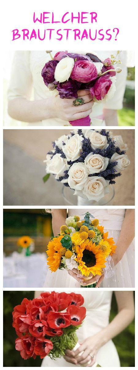 Wann Ist Welche Hochzeit?  Der Brautstrauß Kalender Welche Blumen in welcher