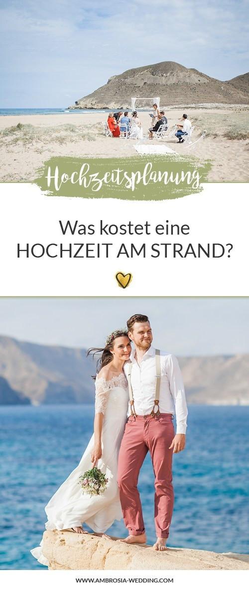 Was Kostet Eine Standesamtliche Hochzeit  Was kostet eine Hochzeit am Strand Welche Kosten sind es