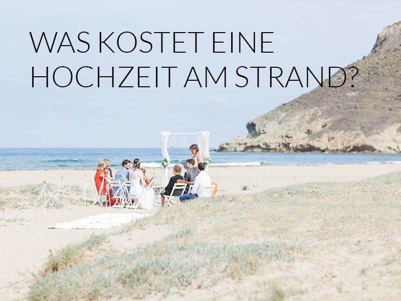 Was Kostet Eine Standesamtliche Hochzeit  Was kostet eine Hochzeit am Strand