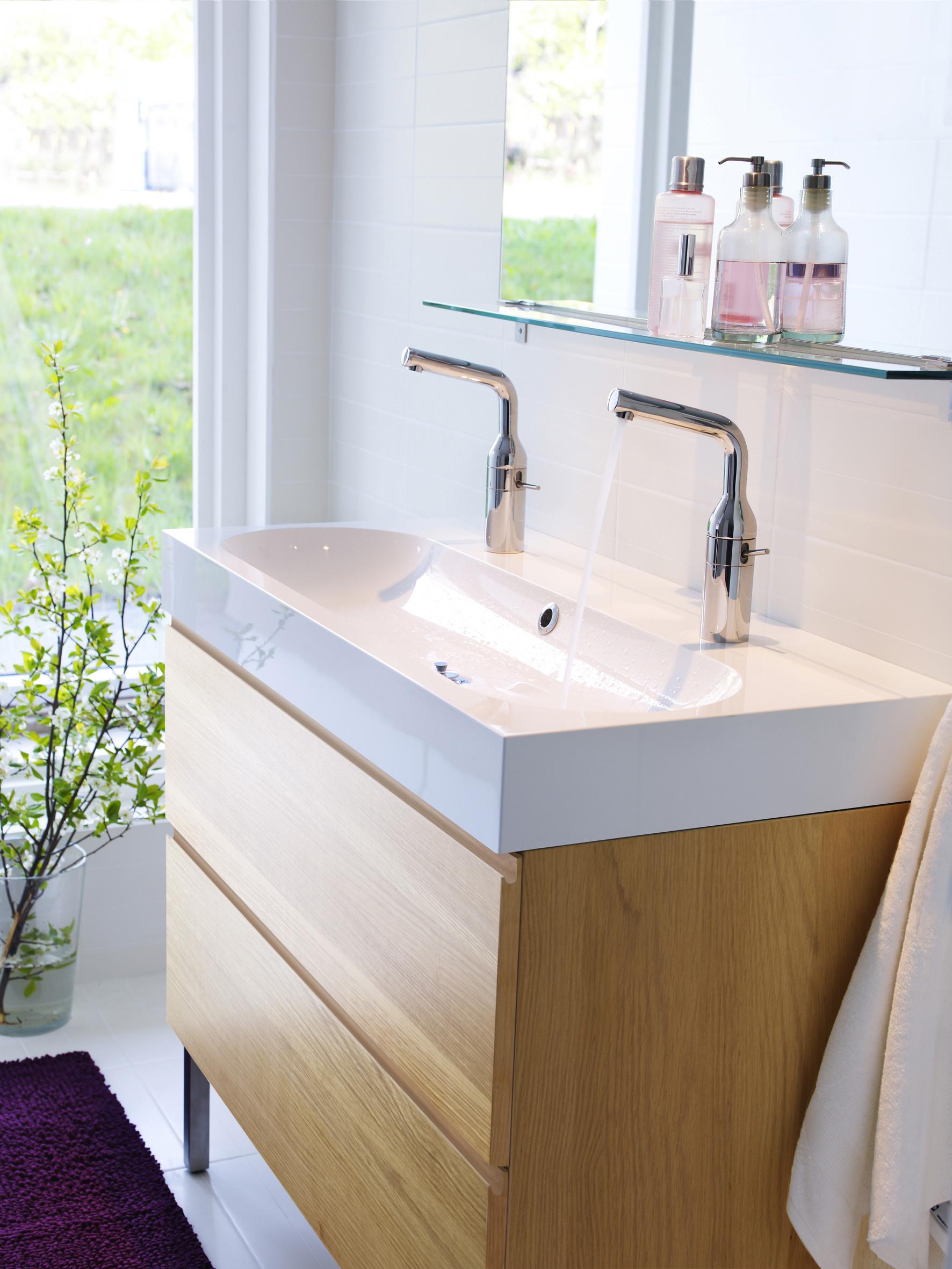 Waschbecken Ikea  Doppel Waschbecken