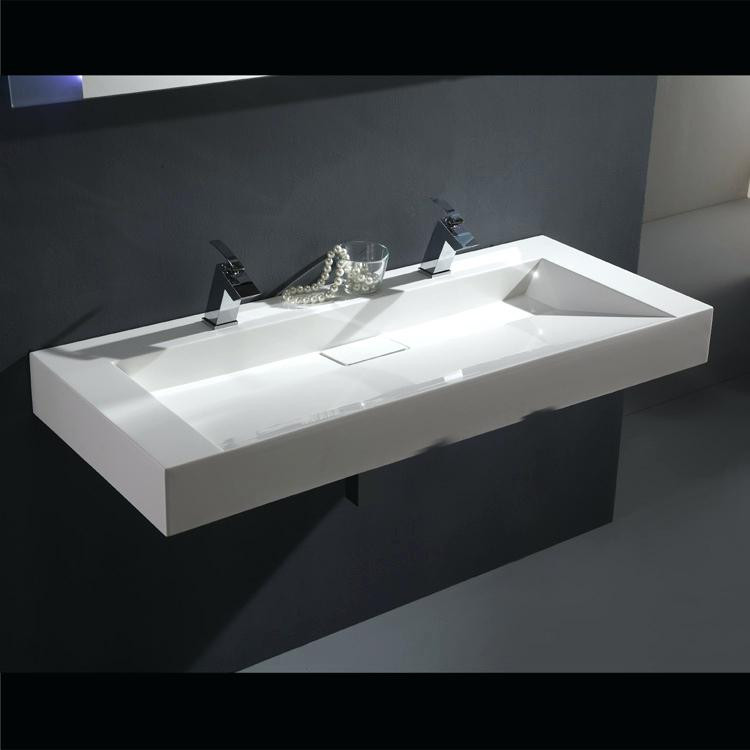 Waschbecken Ikea  Badezimmer Doppelwaschbecken Ikea Waschbecken Mit