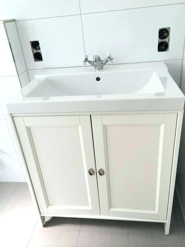 Waschbecken Ikea  Ikea Waschtisch Ein Waschbecken Mit Unterschrank 60 Cm