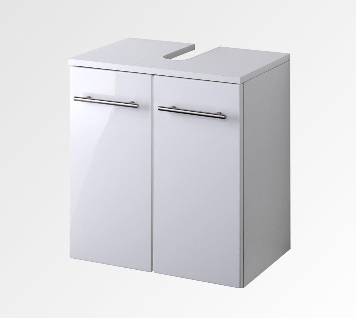 Waschbeckenunterschrank 50 Cm Breit  Bad Waschbeckenunterschrank SMALL 2 türig 50 cm breit