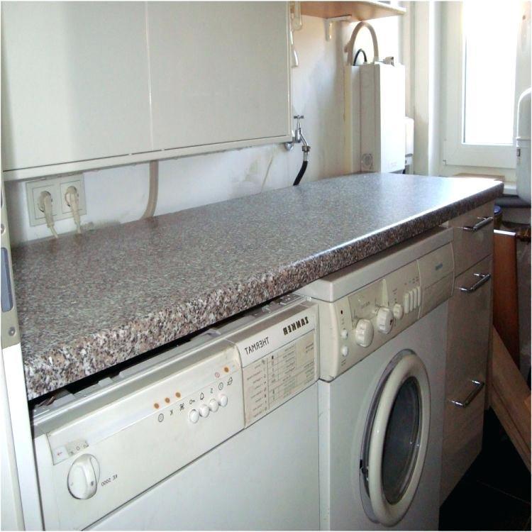 Waschmaschine Unter Arbeitsplatte  Arbeitsplatte Auf Waschmaschine Unter Unterbau Zubehar