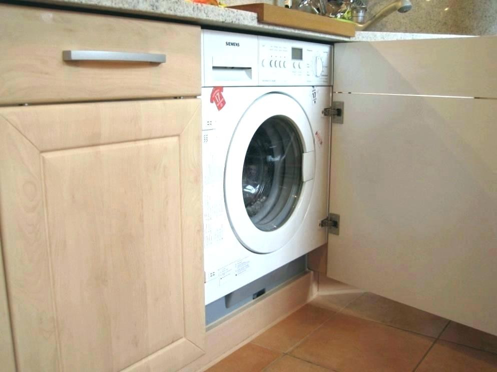 Waschmaschine Unter Arbeitsplatte  Waschmaschine Unter Arbeitsplatte Die Im Bad Verstecken